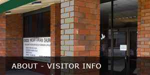 About Knox Church Morrinsville - Visitor Information